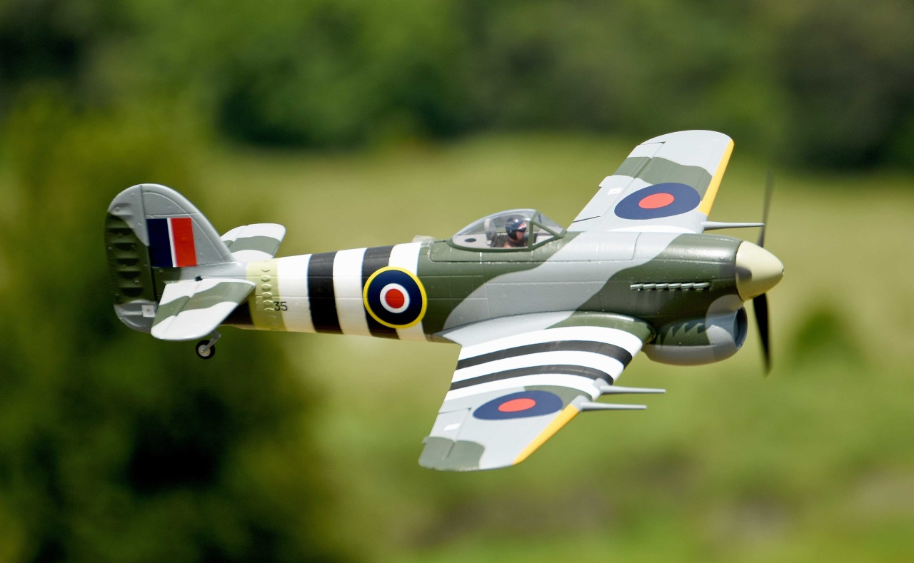 FMS Hawker Typhoon PNP - 110 cm