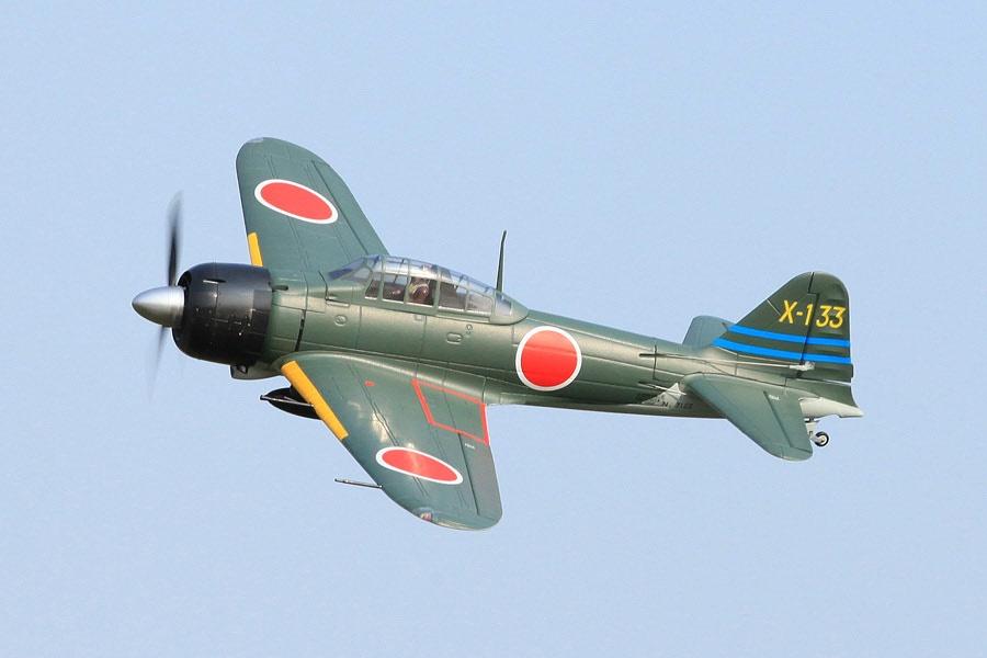 FMS Zero A6M Mitsubishi PNP - 140 cm