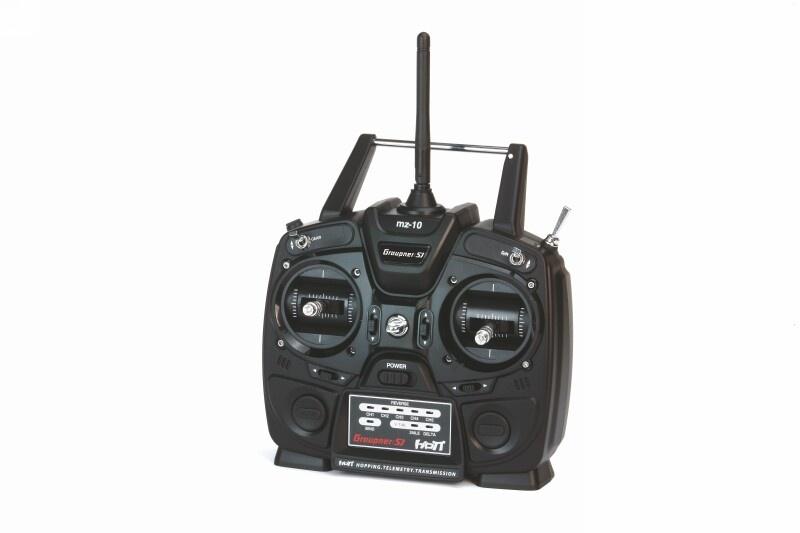 Graupner Fernsteuerungs-Set mz-10 DE, 5 Kanal