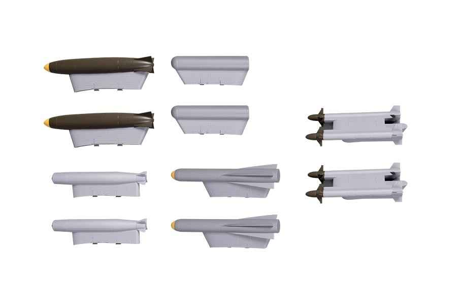 FMS A-10 Thunderbolt II V2 - Bomben und Raketen Set