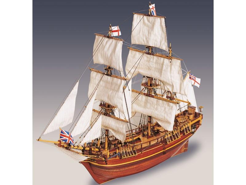 Krick Bounty HMS 1:50 Baukasten Schiff