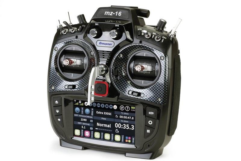 Einzelsender MZ-16 HoTT, 2.4GHz, 16-Kanal Fernsteuerung