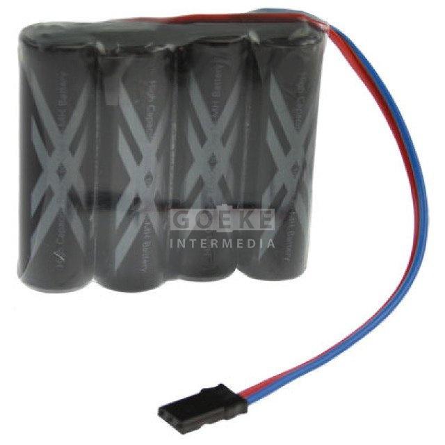 eneloop Pro AA-Reihe mit 4 Zellen 4,8 Volt 2450 mAh