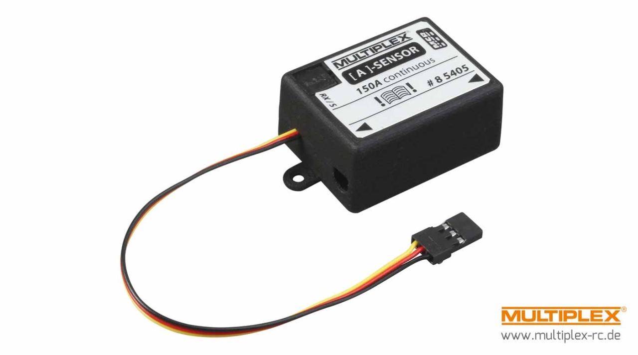 Multiplex Strom-Sensor 150 A für M-LINK Empfänger