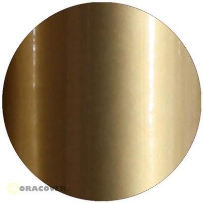 ORACOVER Bügelfolie gold