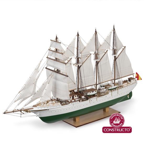 Krick J.S. Elcano  Universal-Baukasten Schiff