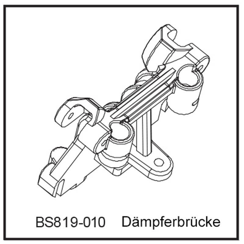 Dämpferbrücke - BEAST BX / TX