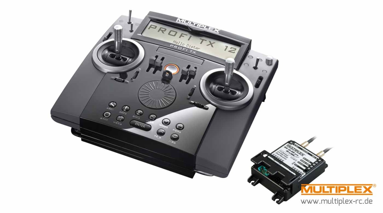 Multiplex PROFI TX12 M-LINK, Set, 2,4 GHz