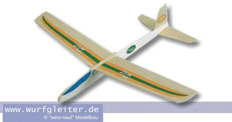 Aeronaut PIT Balsa Wurfgleiter