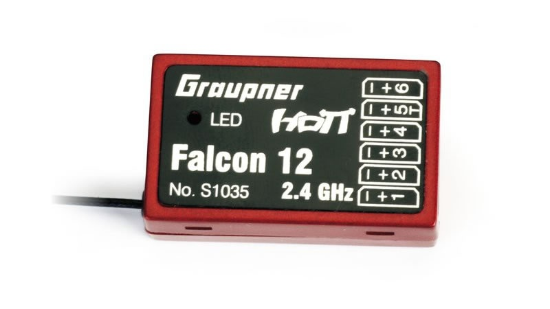 Graupner Falcon 12 HoTT - 2.4 GHz Empfänger