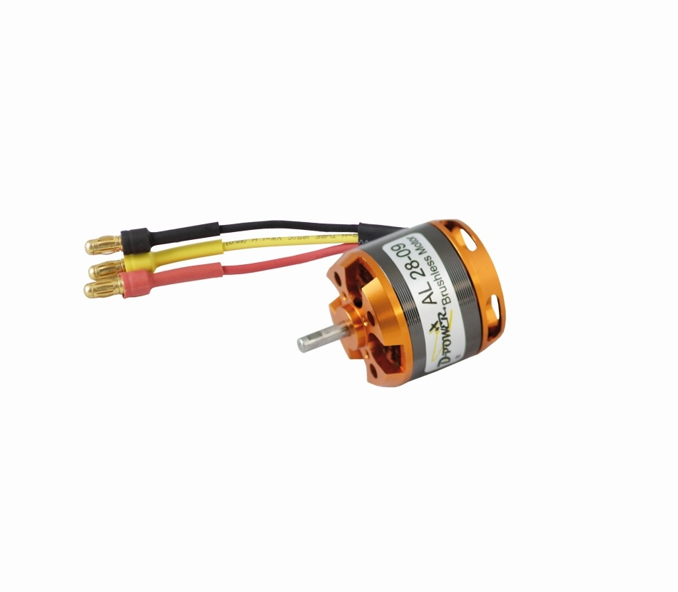D-Power AL 28-09 Brushless Motor
