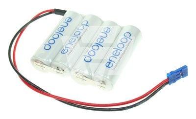 eneloop AA-Reihe mit 4 Zellen 4,8 Volt 1900 mAh