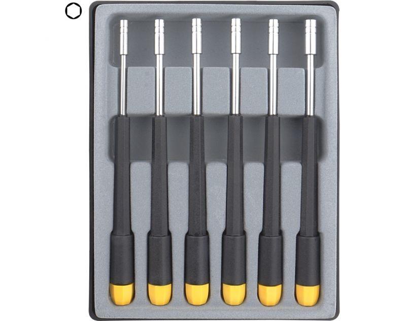 Donau Sechskant Steckschlüssel Set 6-tlg. 2,0 - 4,0 mm