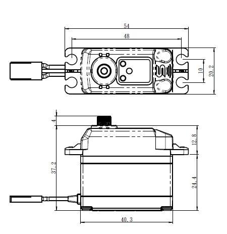 Savöx SV-1272SG Digital Servo HV