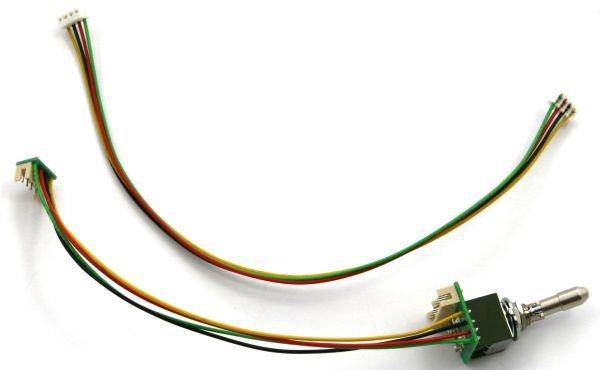 Jeti Sicherheitsschalter 2polig mit Kabel