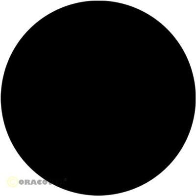 ORACOVER Bügelfolie schwarz