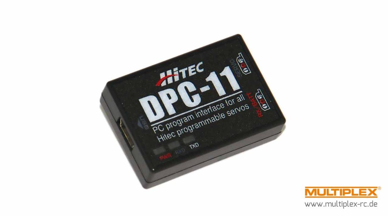 Hitec DPC-11 Programmiergerät -D Serie/BLDC/5xxx/7xxx