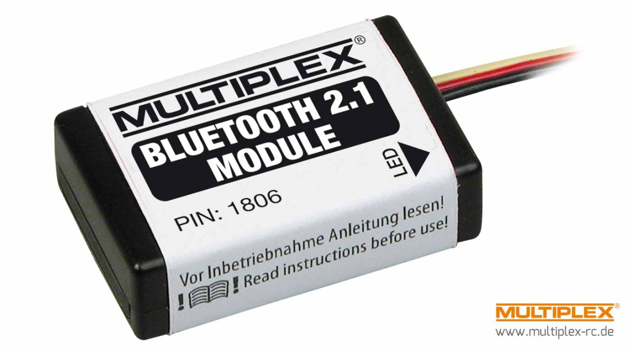 Multiplex Bluetooth Modul f. WINGSTABI