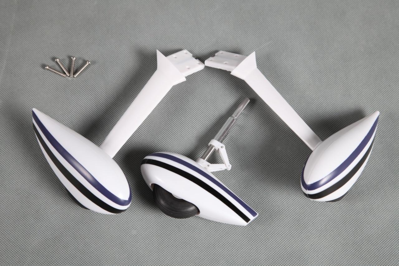 FMS Sky Trainer 182 blau - Fahrwerk