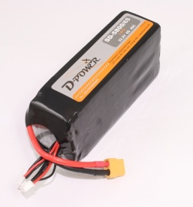 D-Power SD-5800 6S Lipo (22,2V) 45C - XT-60 Stecker