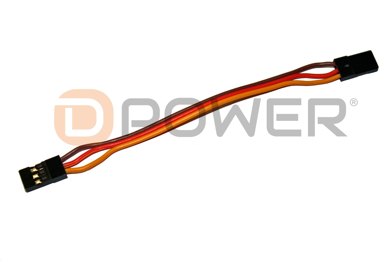 D-Power Graupner / JR Patchkabel - 10 cm
