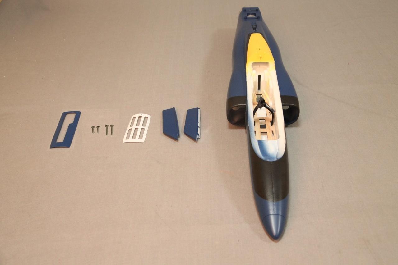 FMS Viper Jet EDF 70 - Rumpf