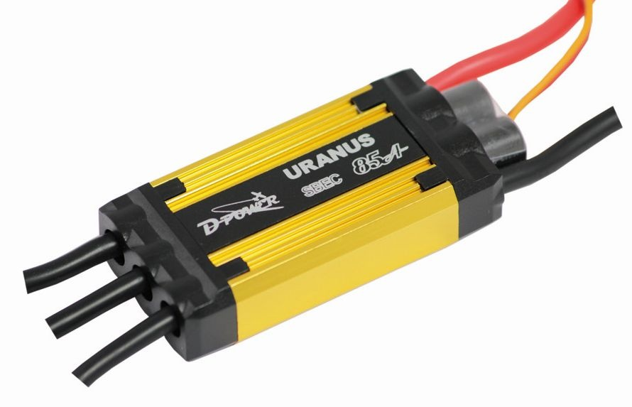 D-Power Uranus 85A S-BEC (8A) Brushless Regler