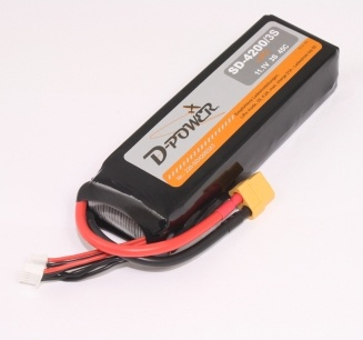 D-Power SD-4200 3S Lipo (11,1V) 45C - mit XT-60 Stecker