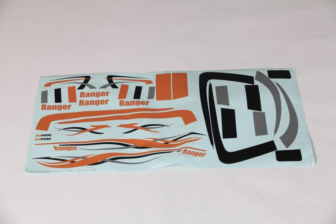 FMS Ranger Mini - Dekorbogen