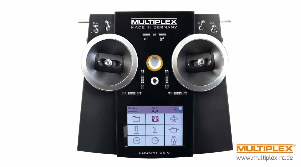 Multiplex COCKPIT SX 9 M-LINK Einzelsender /TX only