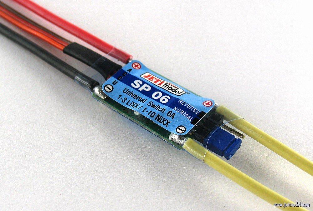 Jeti Universal Switch 6A - Schalter