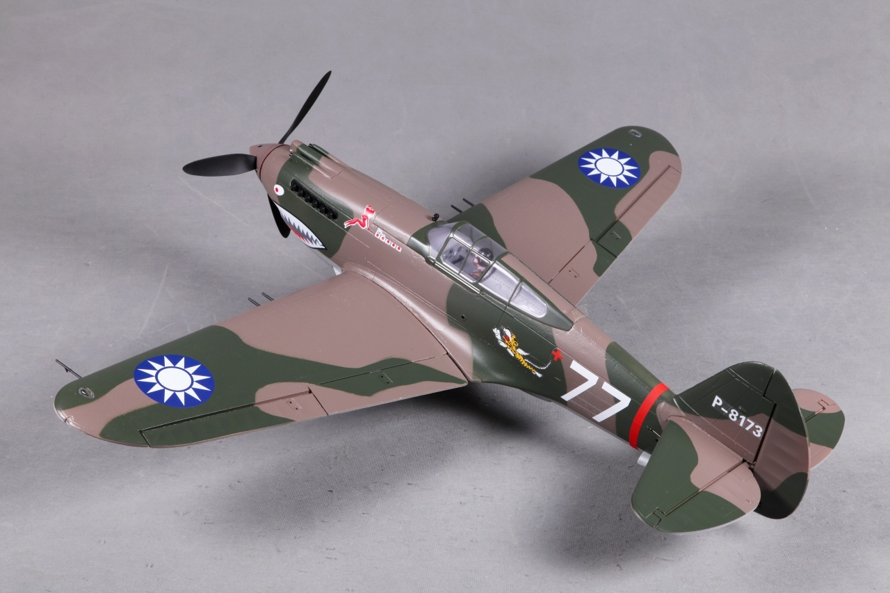 FMS P-40B Curtiss Warhawk Flying Tiger PNP - 98 cm -