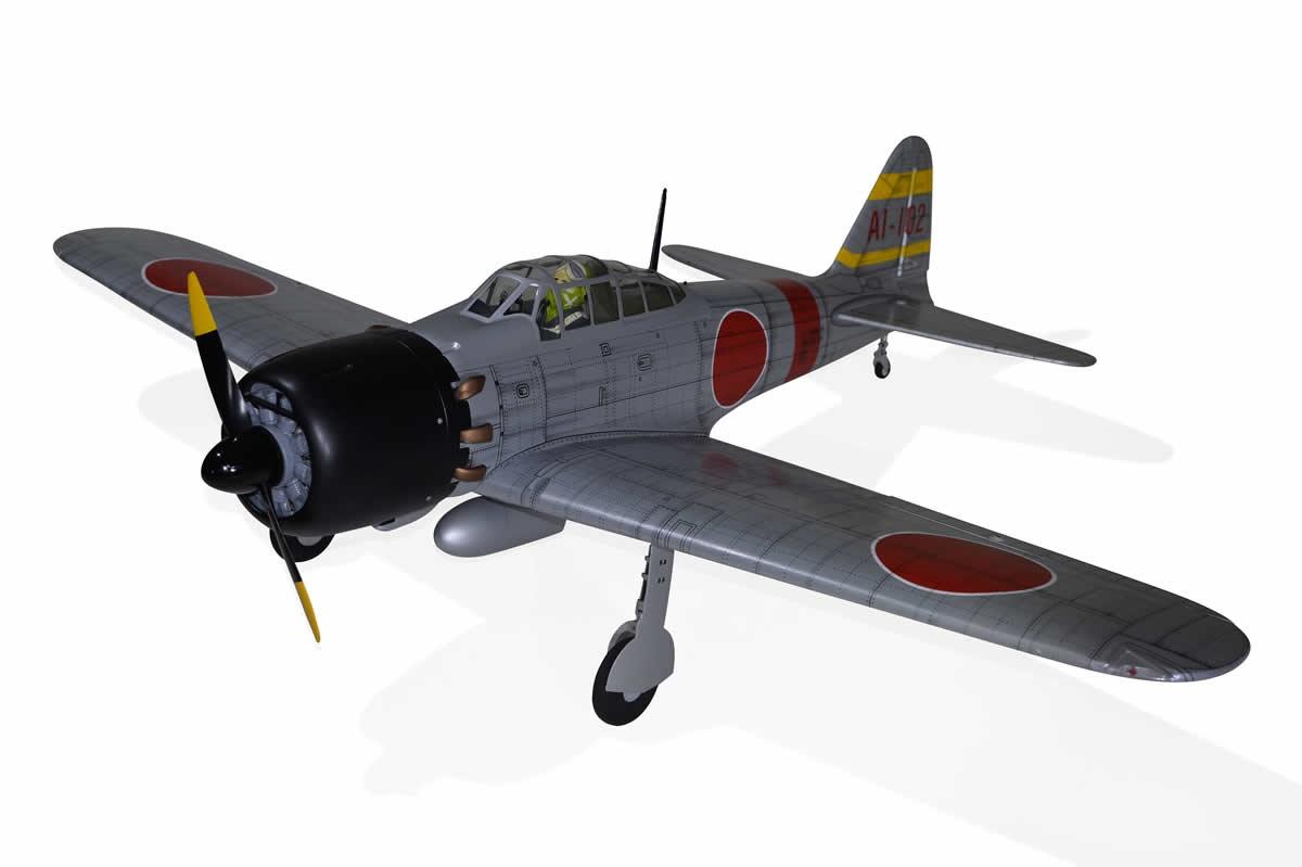 Phoenix Zero A6M - 172 cm