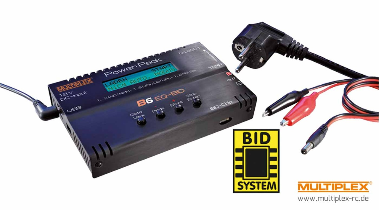 Multiplex POWER PEAK B6 EQ-BID