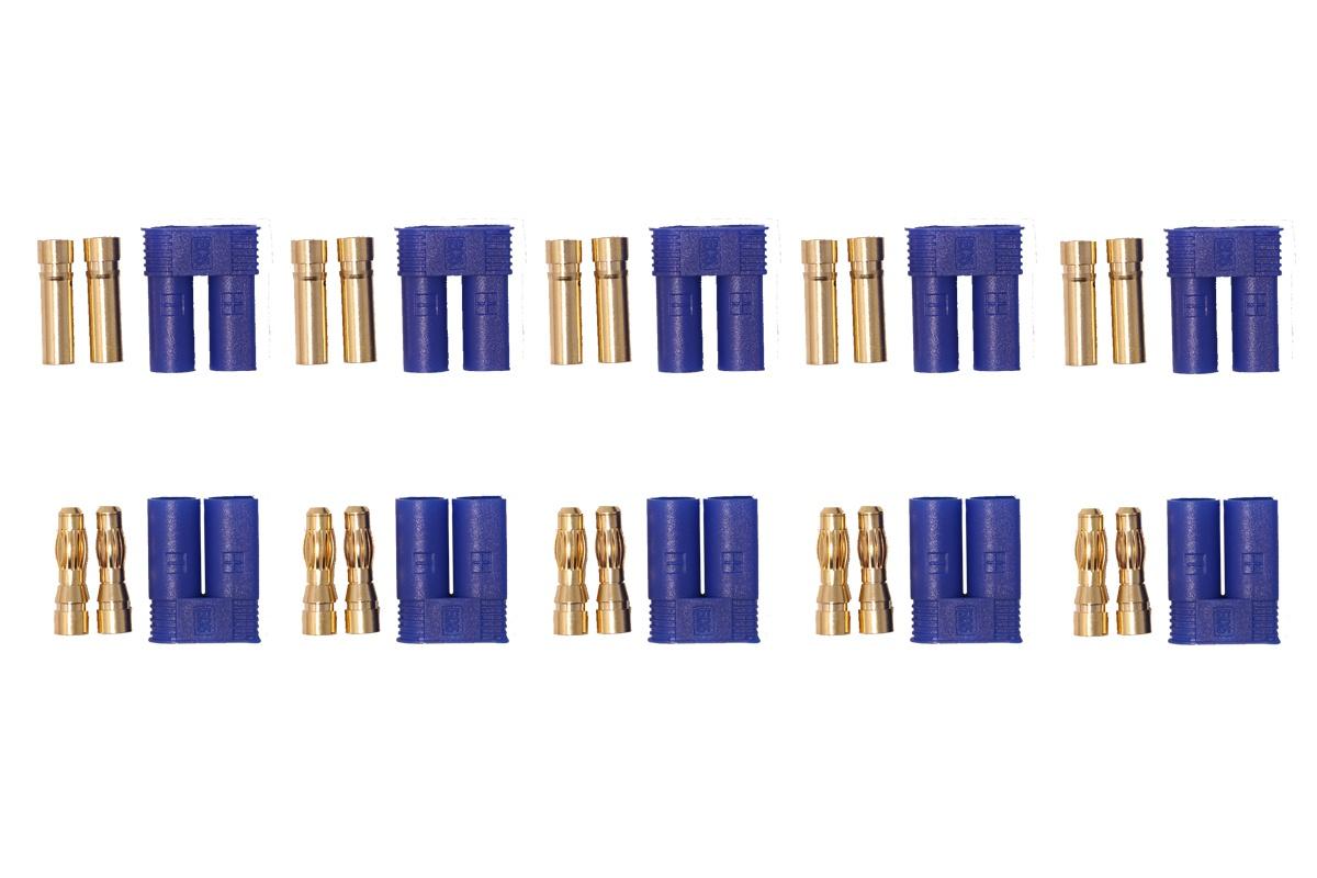 EC5 Hochstromkontakte blau - 5 Paar