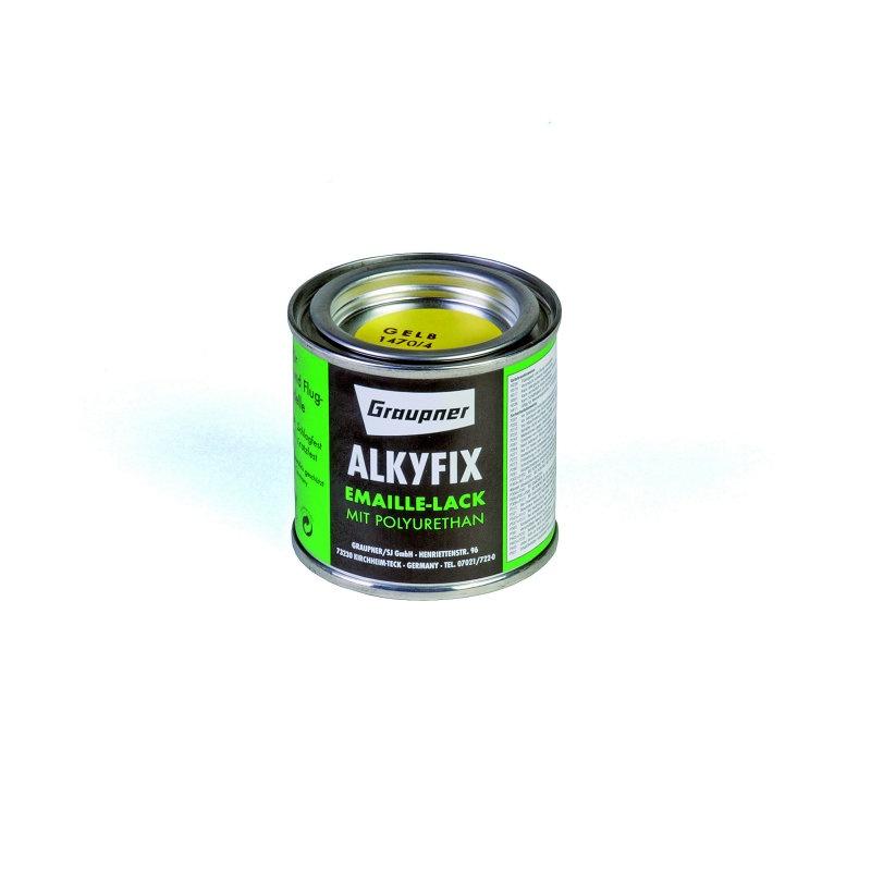 Graupner Alkyfix Emaillelack gelb 100ml