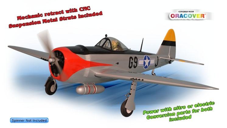Phoenix P47 Thunderbolt - 163 cm