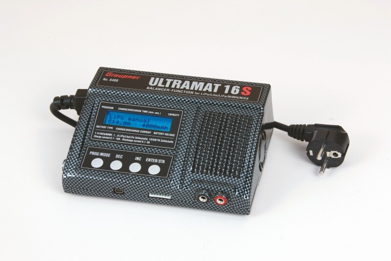 Graupner Ladegerät Ultramat 16S