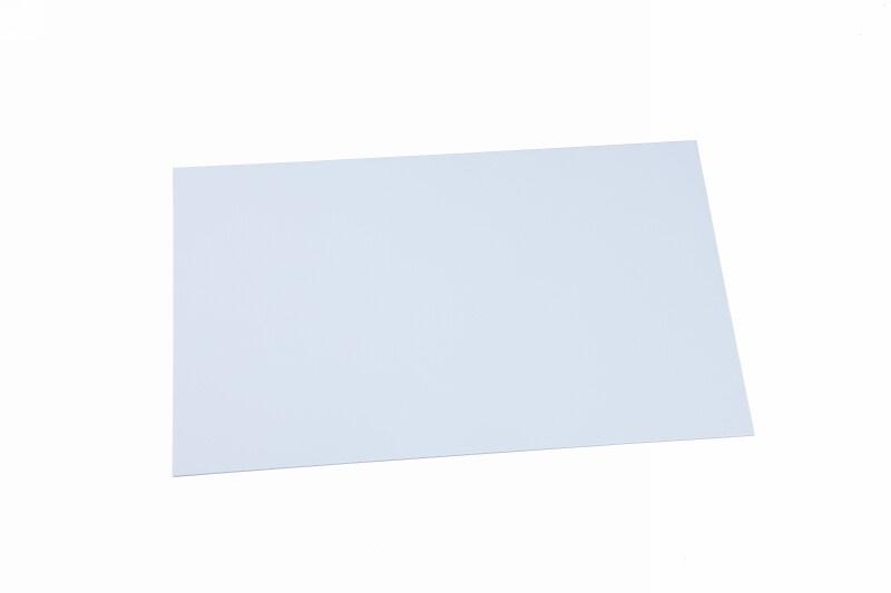 Polystyrol Platte weiss 0,3 mm ca.250 x 500 mm