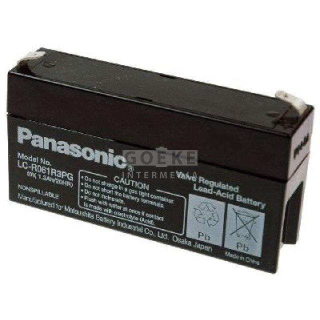 Panasonic Bleibatterie 6 Volt 1300 mAh