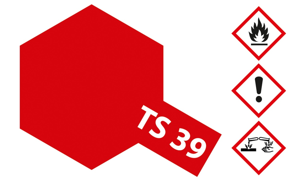 Tamiya TS-39 Mica Rot (Glimmer) glänzend Acryl 100ml